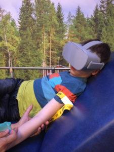 Don de casque de réalité virtuelle - Service Muco